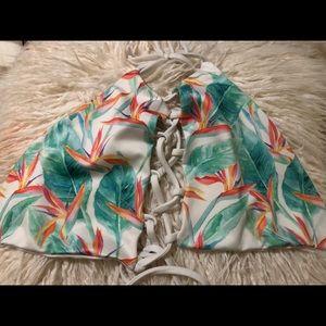 Bird of paradise Kalokini bikini top